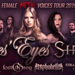Sútaž o dva vstupy na Female Metal Voices Tour 2019 v Košiciach!