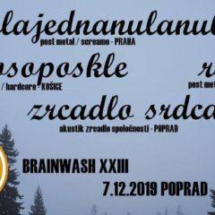 Brainwash XXIII túto sobotu v Poprade!